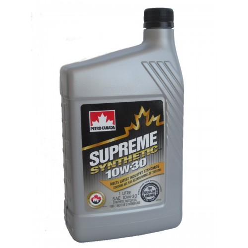 PETRO CANADA SUPREME SYNTHETIC 10W30 1L